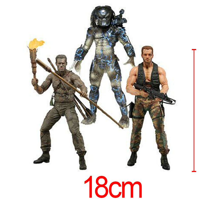 Predators 25th Predator Water Emergence Jungle Disguise Encounter Dutch PVC Action Figure Collectible Model Toy 7 Brinquedos<br><br>Aliexpress