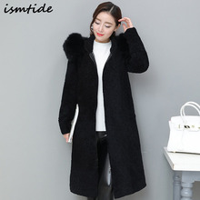 New style fashion Lamb fur coat Genuine Leather Mandarin Collar good quality fox mink fur coat women natural black coats of fur