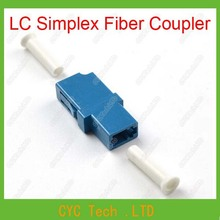 10 pcs  LC Simplex Fiber Coupler , LC Fiber Optic Connectors/ Adapter for Telecommunication