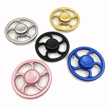 Buy Zinc alloy Round Hand Spinner Anti Stress Fidget Toys Fingertip Gyro Decompression Fidget Spinner Cool Gifts kids adults toy for $3.59 in AliExpress store