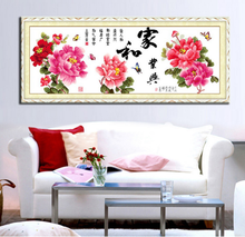 Home and industry Hing cross stitch kit Chinese style 11ct cotton silk thread canvas embroidery DIY handmade needlework my