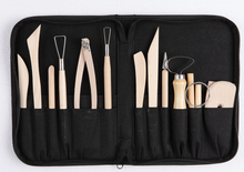 One set of mud shaping tools clay sculpture tool set