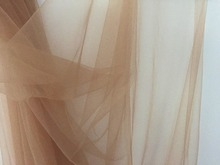 wholesales ! tan skin nude 165cm wide 30meters/lot light weight thin soft mesh fine tulle tiny hole tissue for dresses skirts