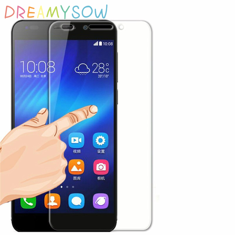 DREAMYSOW Real Tempered Glass lenovo A6010/X3 lite /K4 note/A7010 A3900 Vibe C2 S1 K5 NOTE S930 A616 A680 S8 Screen Film