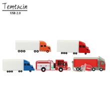 Trailer PenDrive Flash Drive 8G 16G 32G 64G USB Flash Big Truck Flash Card USB 2.0 Stick USB Stick USB Drive Falsh Card