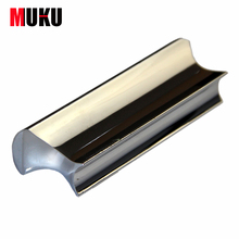 Free Shipping Solid Stainless Steel Tone Bar Guitar Slide for Hawian Guitar