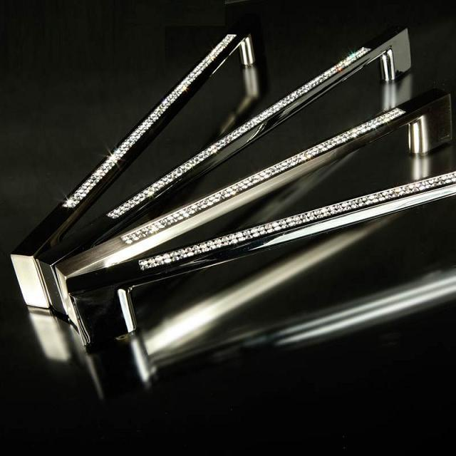 10 pcs  free shipping morden crystal with brass Wine ark wardrobe cabinet shoe cabinet handle 192MM HBC294<br><br>Aliexpress