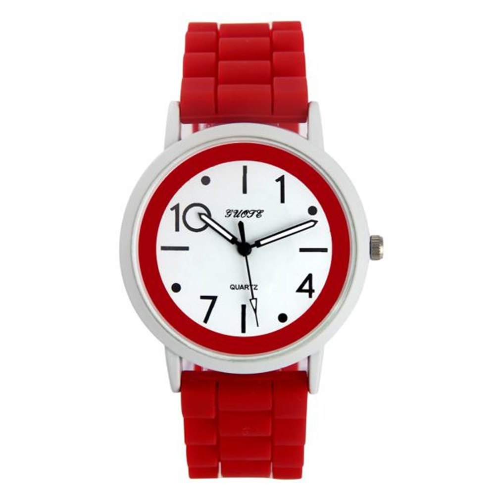 Aimecor Female Watch Jelly-Gel Wrist Sports Casual High-Quality Quartz Silicone Analog title=