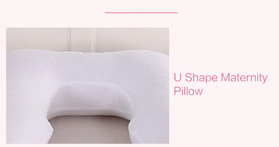 Sleeping Support Pillow For Pregnant Women Body 100% Cotton Pillowcase U Shape Maternity Pillows Pregnancy Side Sleepers Bedding (7)