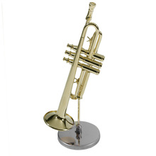 Creative Mini Trumpet A Good Gift For Child Mini Trumpet Musical Instrument Model For Kid Mini Trumpet with Case New Arrival