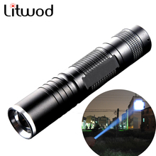 L2 Led mini Flashlight 5000 Lumens Led flash light  Zoomable Waterproof Tactical Flashlight Camping Hiking use 18650