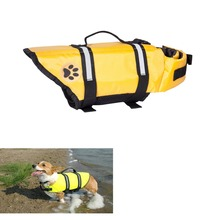 Pet Dog Save Life Jacket Safety Clothes Life Vest Saver Pet Dog Swimming Preserver  Dog Clothes Summer Swimwear