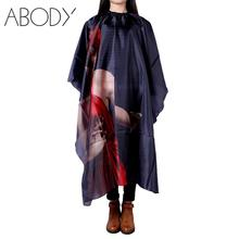 Fashion Hair Cut Hairdresser Barbers Hairdressing Cape Gown Cloth Haircutting Hairdresser Salon Apron Nylon Cloth Styling Tool