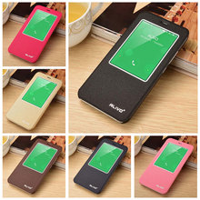 For Meizu MX5 Case 5.5 inch Window View Flip Stand Leather Cover Fundas For Meizu MX 5 Moblie Phone Cases Cell Coque Capa Shell