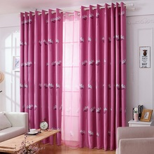 New Arrival Home Textile Window Curtains Pastoral Style Blackout Curtains Livingroom Bedroom Cortinas Drapes 1 Piece