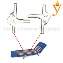 outdoor sofa hinge sofa bed mechanism with 6 positions adjuster  D26-1