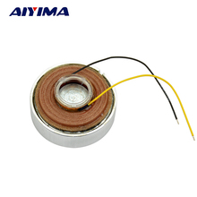 Aiyima 2 inch 4ohm 15W vibration Resonance speaker  Full frequency vibrator 50*22mm high vibration resonant horn