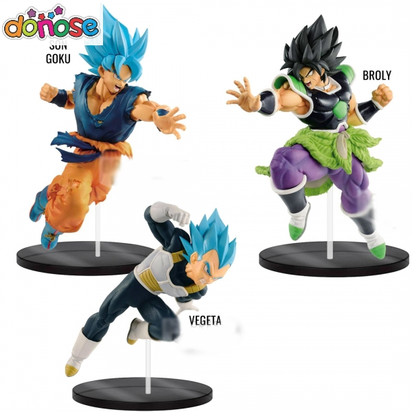 Dragon ball Super Movie Yktunate Sikduers  Soldiers Broly Son Goku Vegeta Figure Action Figure Collection Model Kids Toy