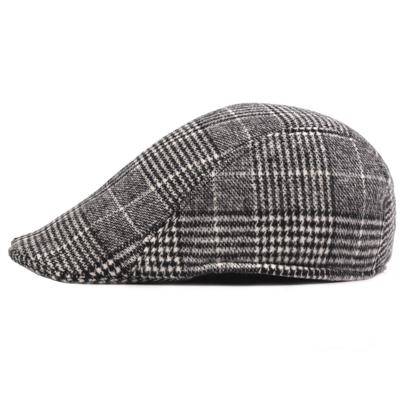 beret hat solid casual