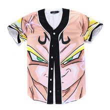 cartoon boy printed shirt men's clothing Fashion baseball shirt men short sleeve casual slim shirts