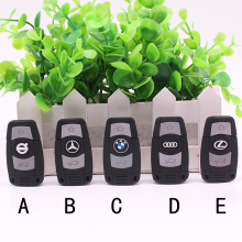 Silicone Car Key USB Flash Drive 4gb 8gb 16gb 32gb 64gb Pen Drive USB 2.0 Memory Disk USB Stick Pendrive Carkey