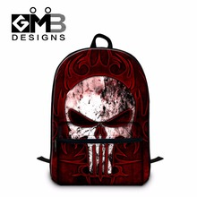 Clear School Backpack for Children,Skull Bookbags for Boys,College Mochila Book Bag,Ghost Traveling Bag for Men,Youth Day pack(China)