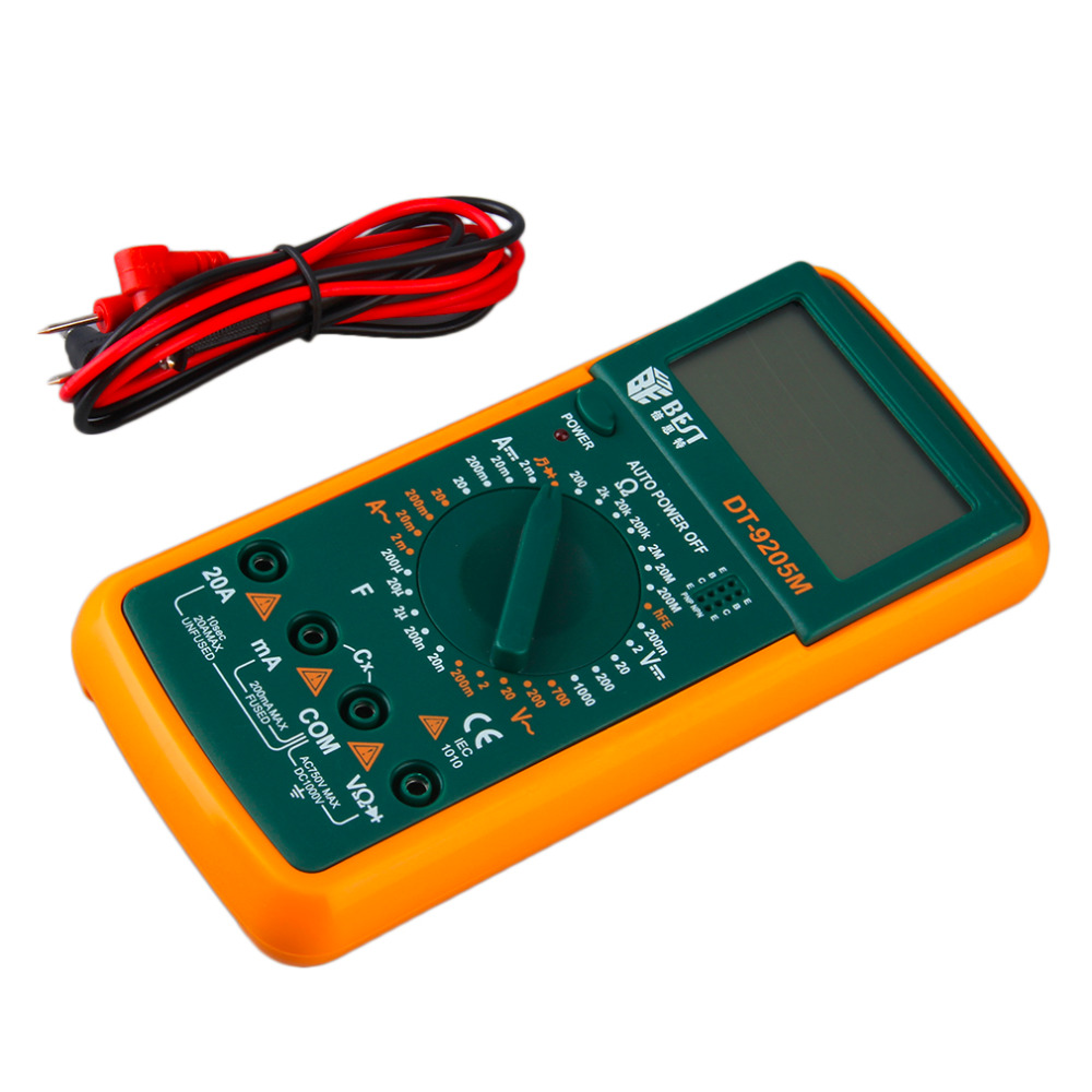 Digital Multimeter LCD AC/DC Ammeter Resistance Capacitance Tester Worldwide Store<br><br>Aliexpress