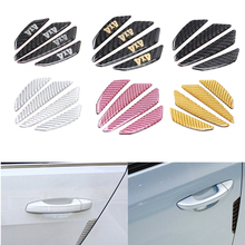 Buy 4 Pcs/Lot Carbon Fiber Car Door Edge Anti Scratch Guards Fender Side Bumper Protector Sticker Decoration 6 Styles Choose for $4.49 in AliExpress store