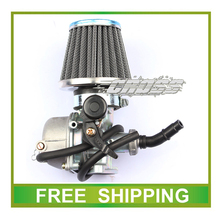 90CC 110cc 125cc 19mm carburetor air filter atv quad dirt pit bike pz19 motorcycle accessories free shipping