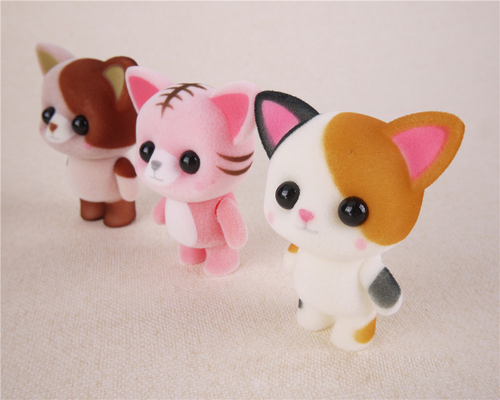 Kawaii-Mini-Cats-Decoration-Toys-Best-Christmas-Surprise-Gifts-For-Girls-Little-Cute-Flocking-Doll-Toys (3)