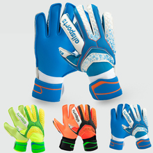 2017 Child Kids Adult Professional Thicken full latex Football Goalkeeper Gloves Goalie Soccer Goal Keeper finger guard Non-slip