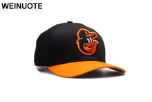 Men's Baltimore Orioles Strapback Black Hats Sport classic Fashion Orange Brim Baseball Hat Curved Caps For Women(China)