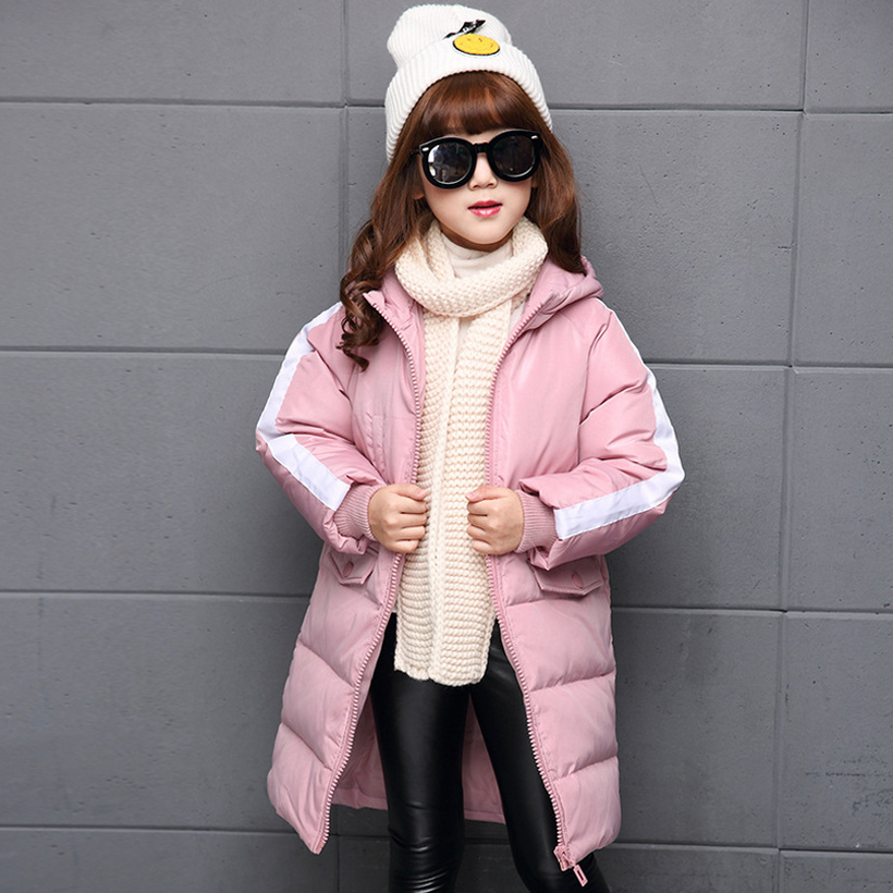 Winter coat jacket down jacket girl baby girl clothes children overcoat Korea fashion red 4 ~ 14 years birthday<br><br>Aliexpress