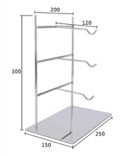 Glasses holder display rack shelf showing stand showing desktop boutique store display showing rack standing(China)
