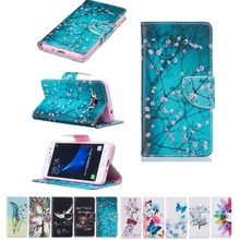 fashion pattern carton Case Wallet Style PU Leather Case For Samsung Galaxy J3 Pro with Stand Function and Card Holder
