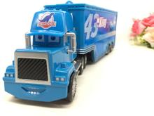 Pixar Cars Mack Uncle & No.43 King  Diecast Toy Truck 1:43 Loose Brand New Mack Racer's Truck  Toy Car For Children