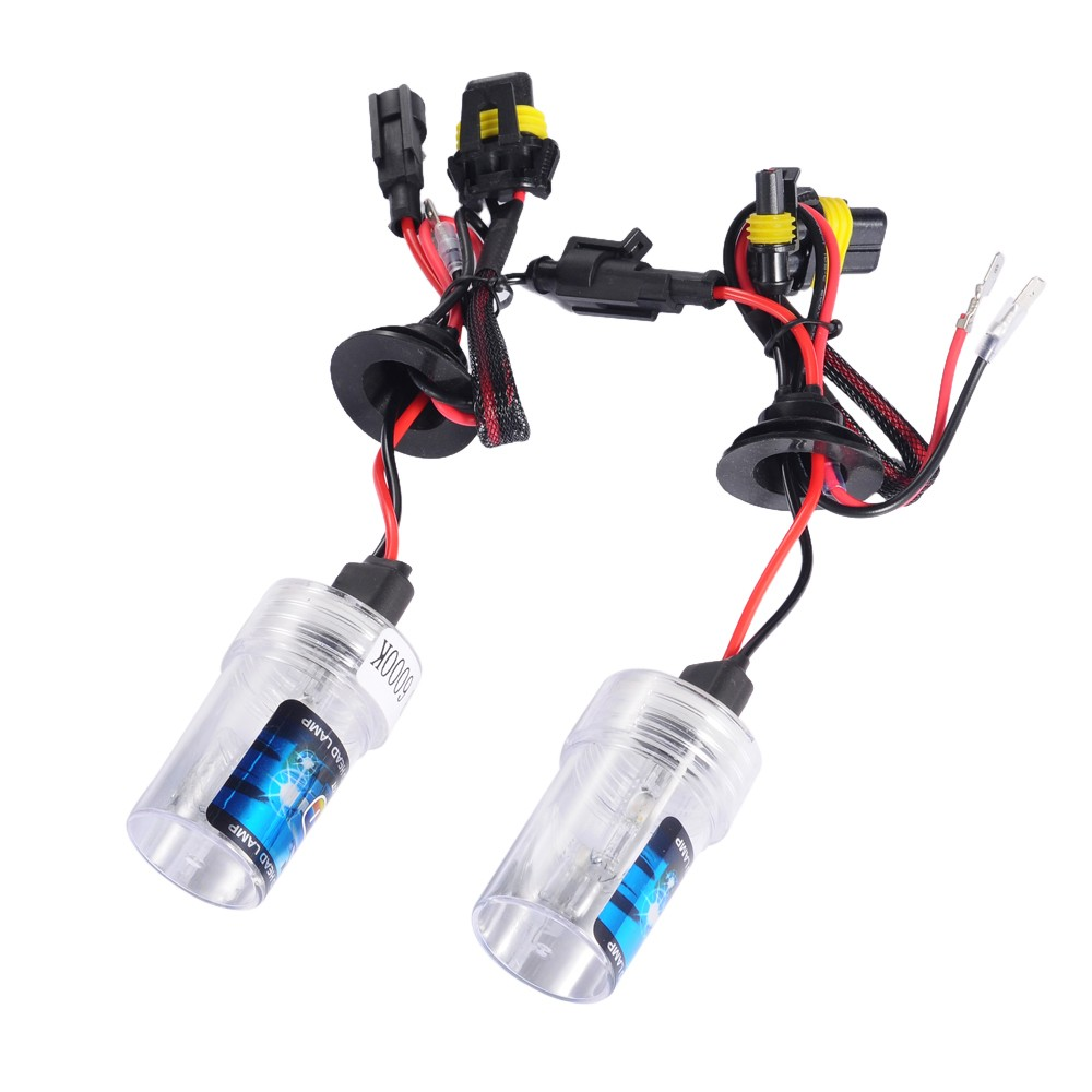 2X HID Xenon Bulbs 55W 12V Car Headlights H4 Lamp 5000K Low Power Consumption<br><br>Aliexpress