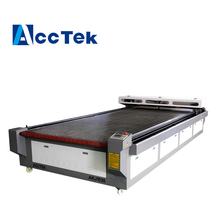 High technology and good price 1530 cloth laser cutting machine with auto feeding working table from China(China)