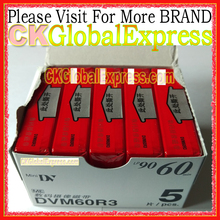 5 Pcs FOR Mini DV DVM60R3 Cassette Tape High Quality Digital Video Cassette SP 60m LP 90m MADE IN JAPAN with Free Gift(China)