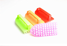 2015 High Quality plastic laundry brush home essential household wash cleaning brush manufacturers direct sales 10pcs/lot O0160(China)