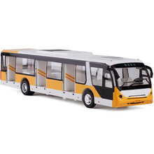 High simulation model busAlloy pull back cars,metal Sightseeing bus,toy cars,gift toy bus