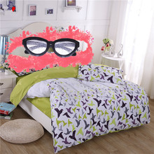 Lifeng home 1pc duvet cover Green spirit blanket cover 180*210cm home bed Grey quilts cover RU double duvet cover familiy bedset