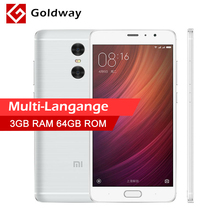 "Original Xiaomi Redmi Pro Prime 64GB ROM Mobile Phone MTK Helio X25 Deca Core 5.5"" 1920x1080 13MP 5MP Dual Back Camera"