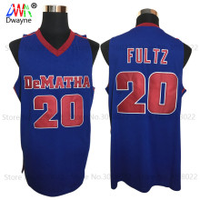 2017 Mens Dwayne Markelle Fultz Jersey Cheap Throwback Basketball Jerseys #20 DeMatha Catholic HS Stags Retro Shirts For Men(China)