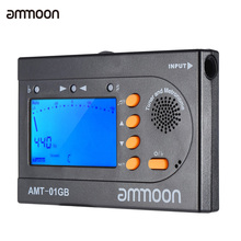 ammoon AMT-01GB Multifunctional 3in1 Digital Tuner + Metronome + Tone Generator for Chromatic Guitar Bass Violin(China)