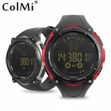 ColMi Smart Watch IP68 5ATM Waterproof Message Call Reminder Ultra-long Standby Sport Steps Counting Watch for Android IOS Phone(China)
