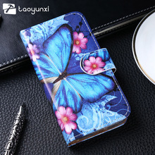 Buy TAOYUNXI Case Meizu M6s Case Flip Leather Patterned Case mblu S6 Meilan S6 Cover Wallet Shell Card Slot Kickstand Protector for $3.98 in AliExpress store