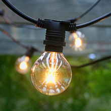 AU G40 33ft SAA Festoon Globe Industrial Grade Christmas Outdoor Decoration String Lights(China)