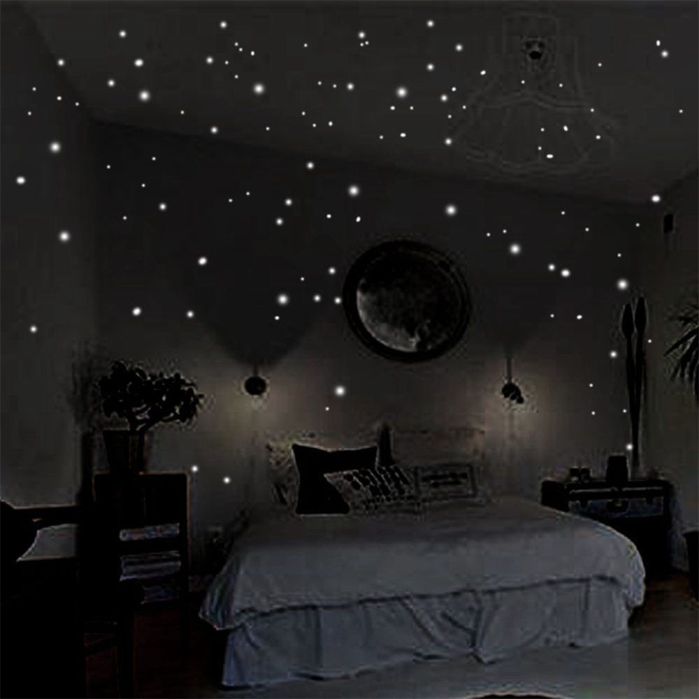 Glow In The Dark Stars DIY Wall Stickers