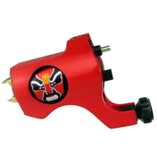 Hot Sale Bishop Rotary Tattoo Machine Swiss Motor Red Tattoo Gun For Tattoo Supplies Liner And Shader TM-553B